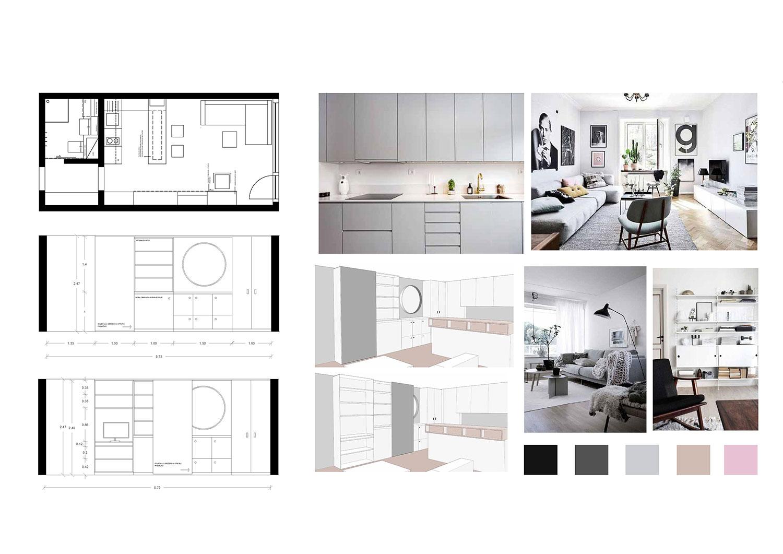 Funkcionalne rešitve za majhno stanovanje