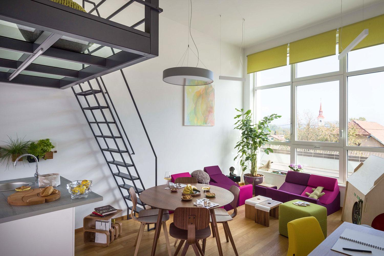 POP UP stanovanje v Dunajskih mozaikih
