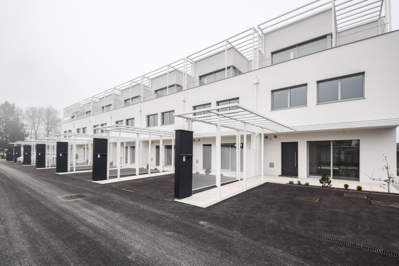 Novogradnja Vrstne hiše v trnovskem predmestju 1