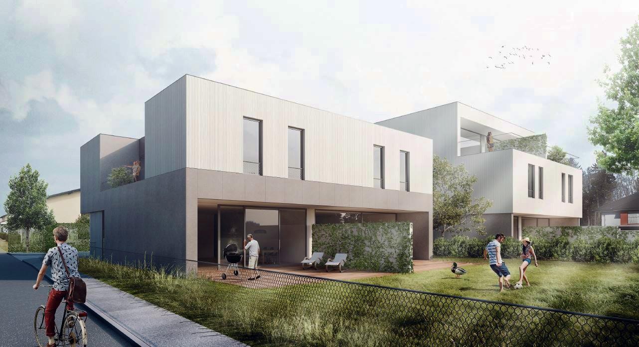 Novogradnja Stanovanjska dvojčka Zadobrova 1