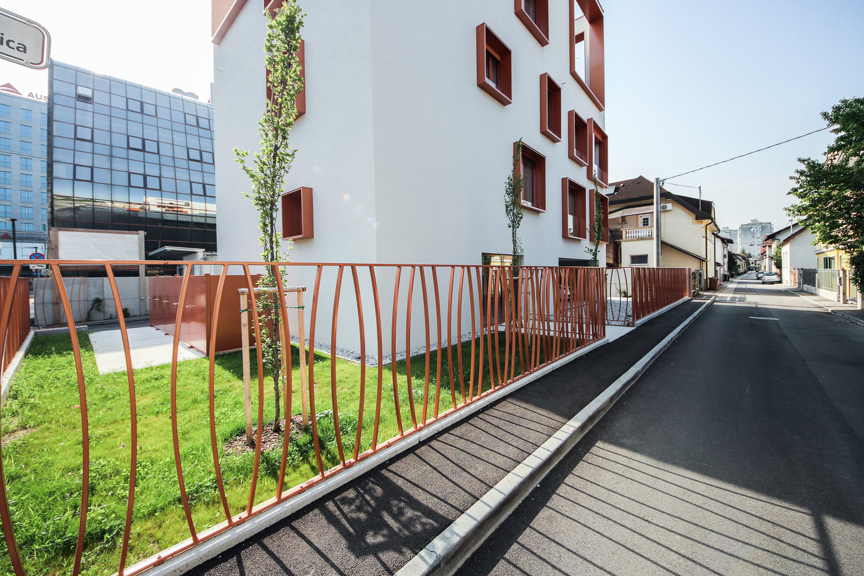Novogradnja Vila blok na Funtkovi ulici 1