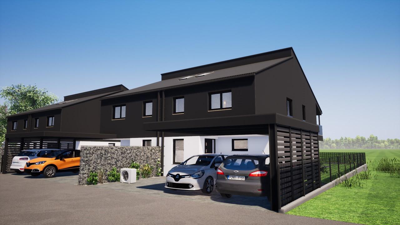 Novogradnja Hiša dvojček Polje 9