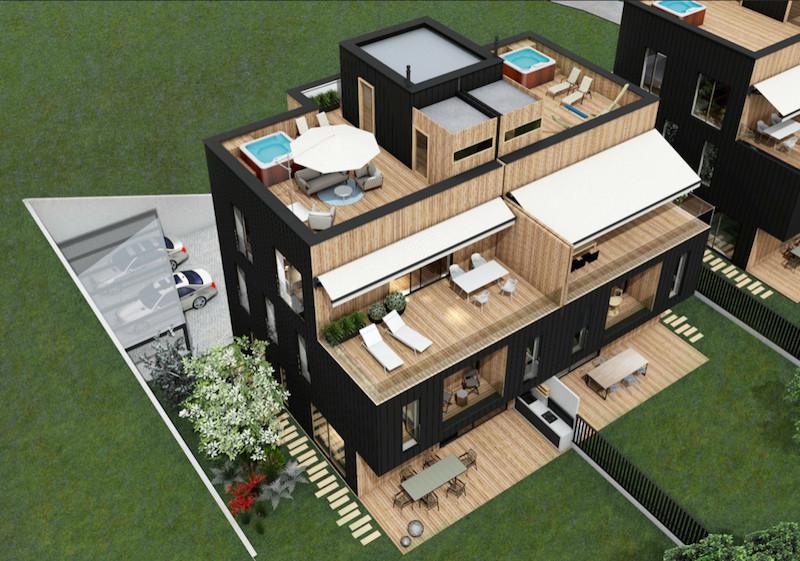 Novogradnja 12 eko stanovanj v Spodnjih Gameljnah 2