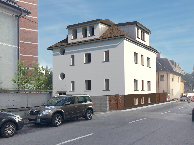 Novogradnja Meščanska vila v Šiški 2