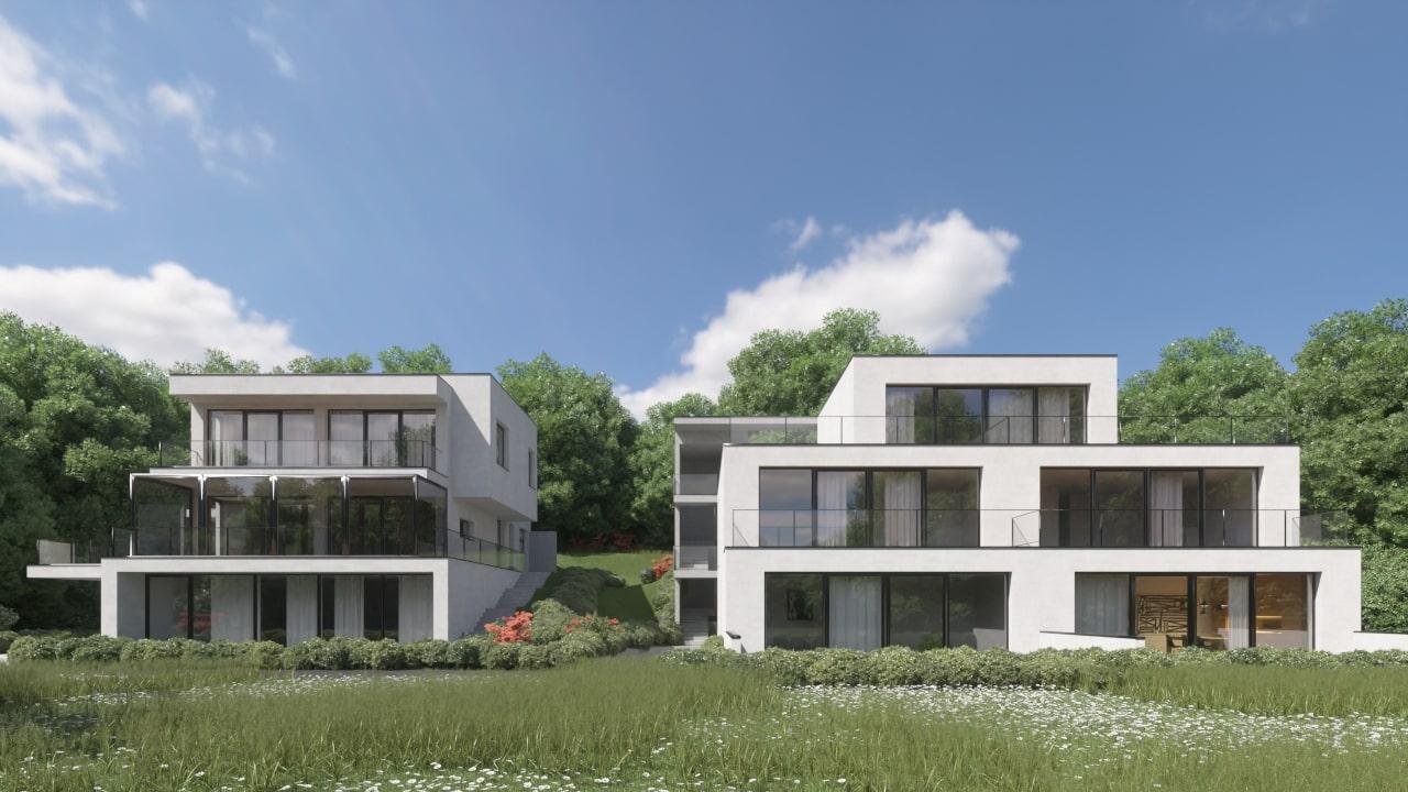 Novogradnja Prestižna stanovanjska vila Gameljne 2