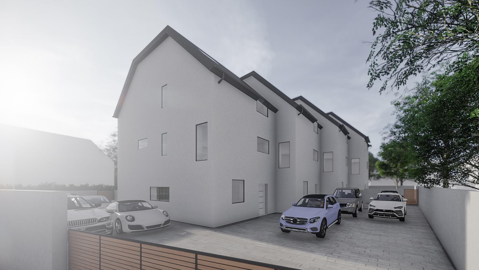 Novogradnja Vrstne hiše na Koleziji 3