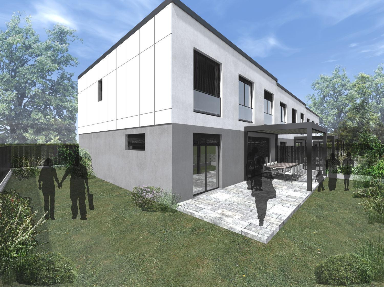 Novogradnja Trojček v neposredni bližini centra Mesta 2