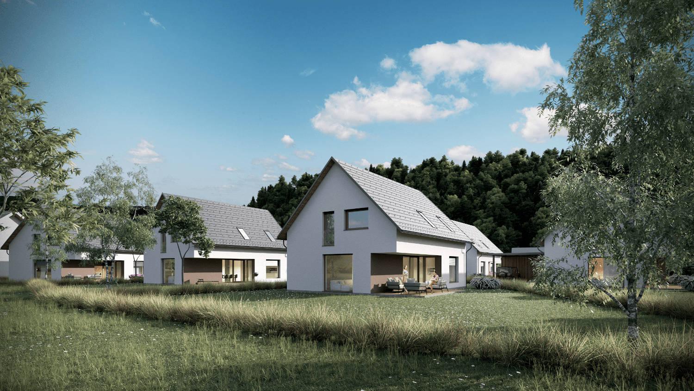 Novogradnja Pasivne enodružinske hiše 2