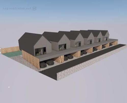 Novogradnja Vrstna hiša v neposredni bližini BTC-ja 3