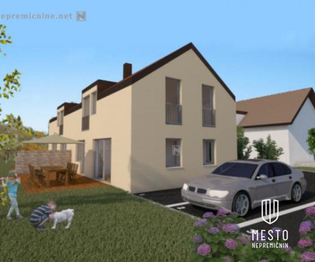 Novogradnja 3 dvojčki v Mostah 3