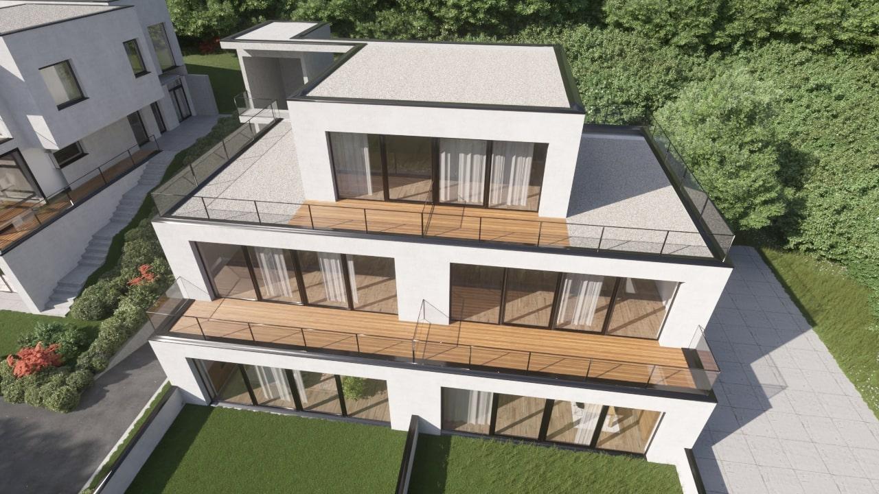 Novogradnja Prestižna stanovanjska vila Gameljne 3