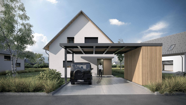 Novogradnja Pasivne enodružinske hiše 3