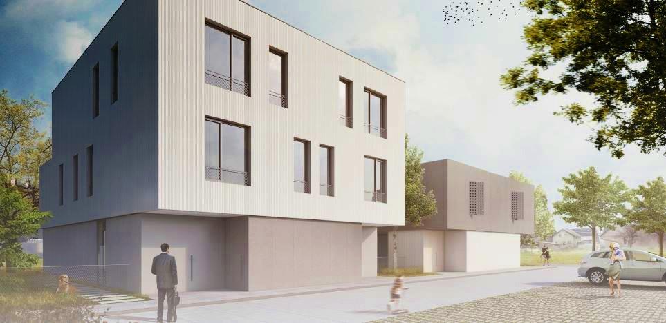 Novogradnja Stanovanjska dvojčka Zadobrova 3
