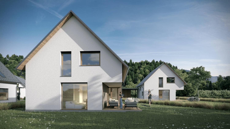 Novogradnja Pasivne enodružinske hiše 4