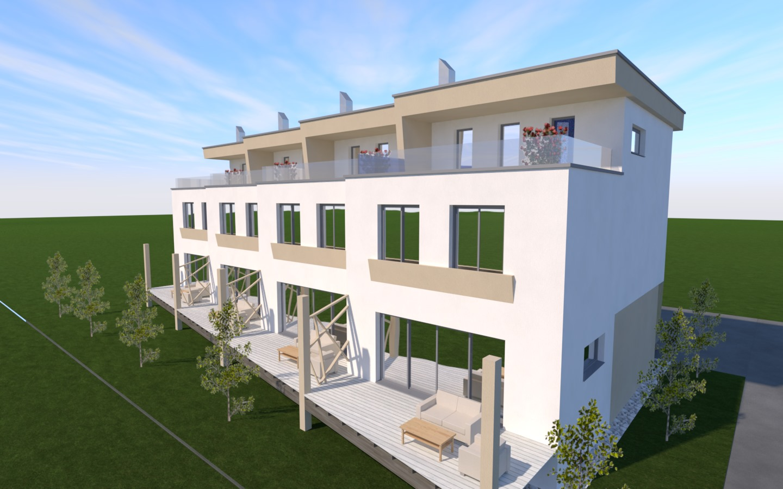 Novogradnja Vrstne hiše Rudnik 7