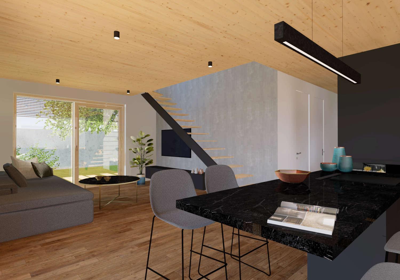 Novogradnja 12 eko stanovanj v Spodnjih Gameljnah 5