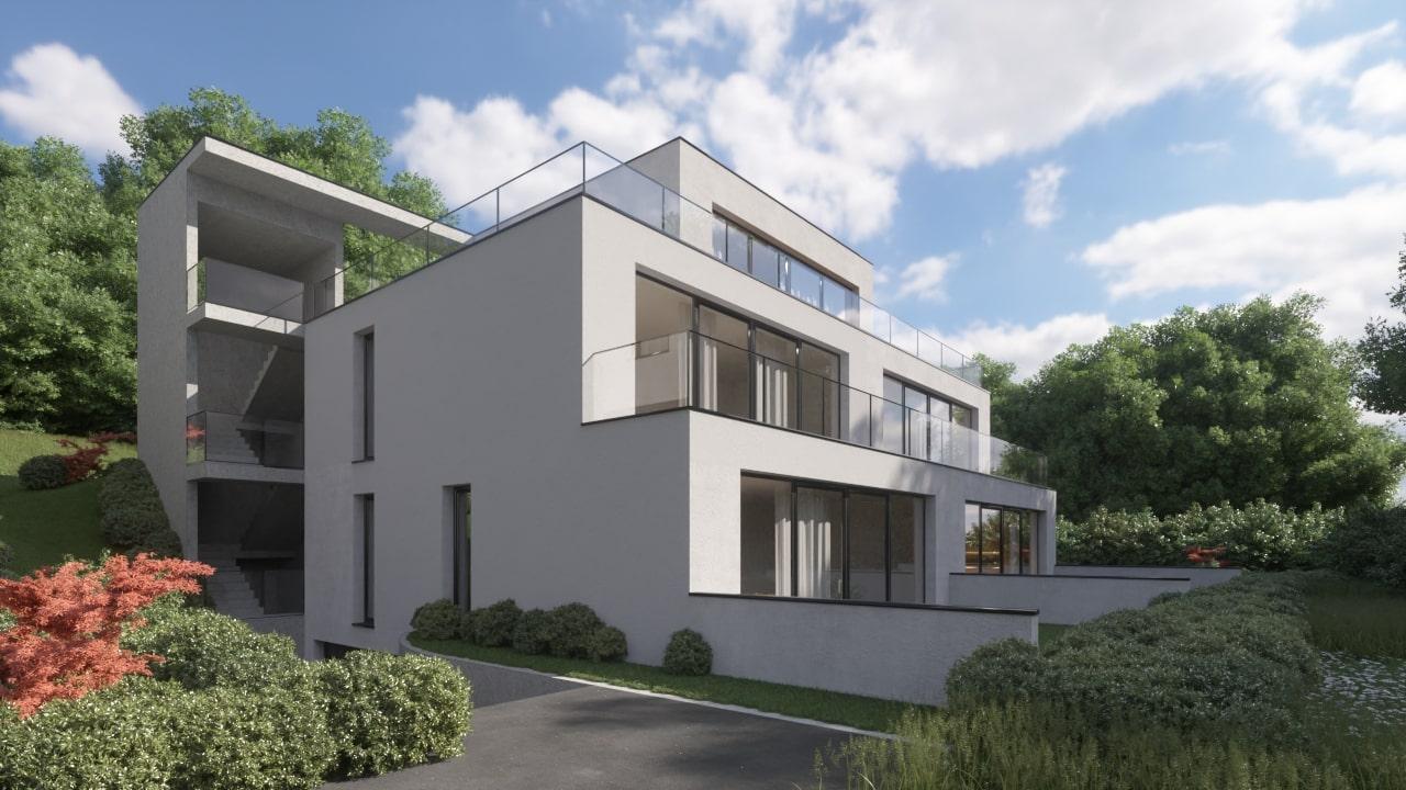 Novogradnja Prestižna stanovanjska vila Gameljne 5