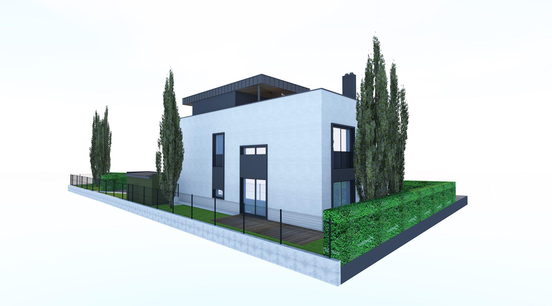 Novogradnja Vila blok Vižmarje-Brod 5