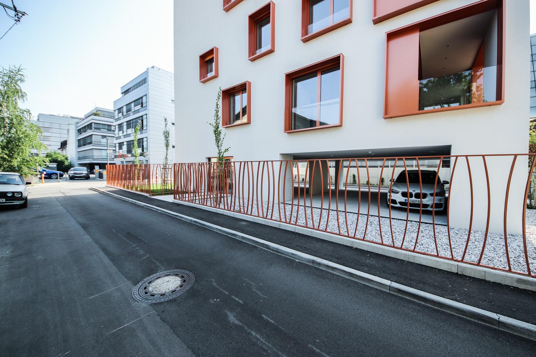Novogradnja Vila blok na Funtkovi ulici 6