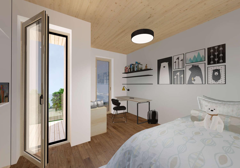 Novogradnja 12 eko stanovanj v Spodnjih Gameljnah 8
