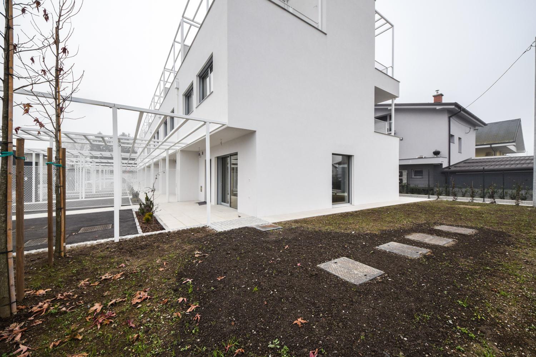 Novogradnja Vrstne hiše v trnovskem predmestju 7