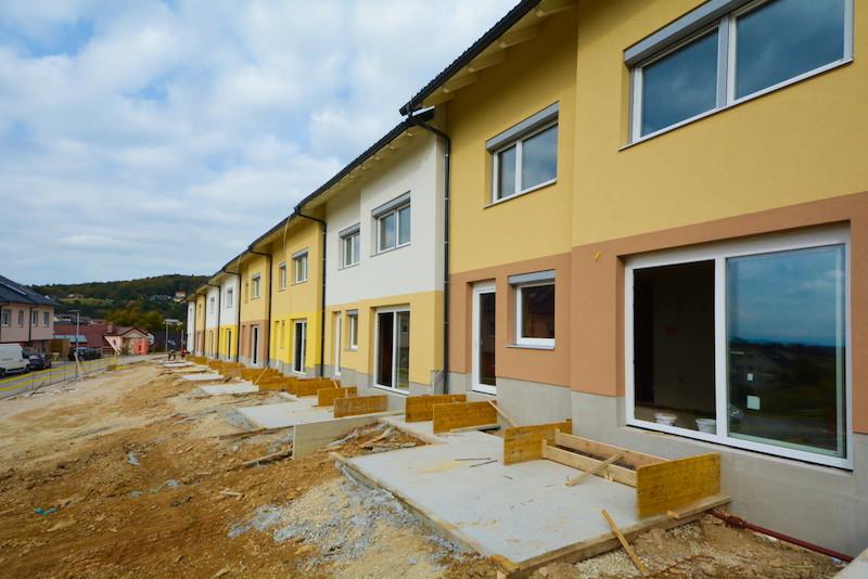 Novogradnja Naselje vrstnih hiš Škofljica 4