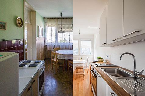Iz starega, v novo in svetlo - popolna prenova stanovanja