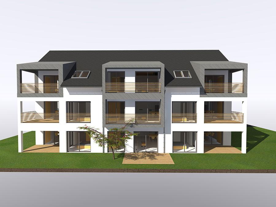 Projekt v gradnji Nova stanovanja v Pirničah