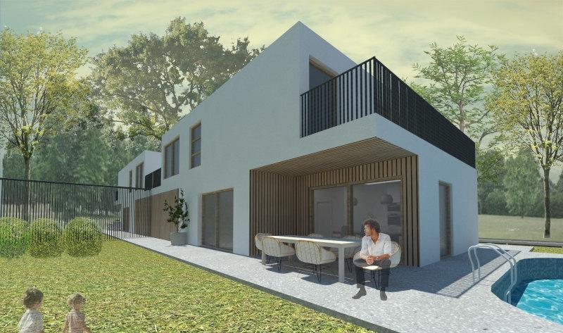 Projekt v gradnji Projekt s pravnomočnim gradbenim dovoljenjem