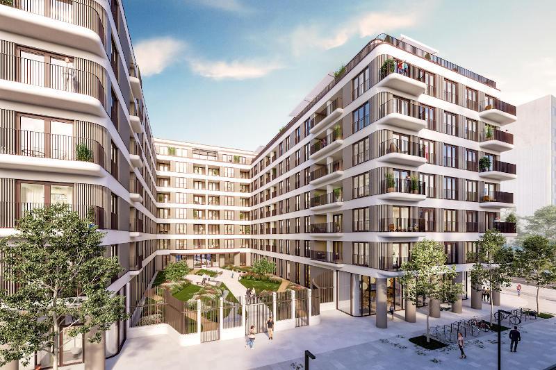 Projekt v gradnji Palais & Villa Schellenburg