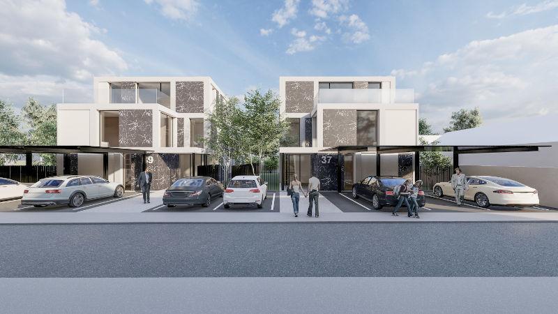 Projekt v gradnji 4 prestižna stanovanja v Trnovem