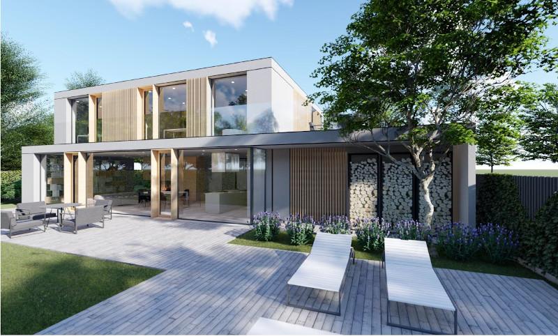 Projekt v gradnji Samostojna hiša v Podutiku