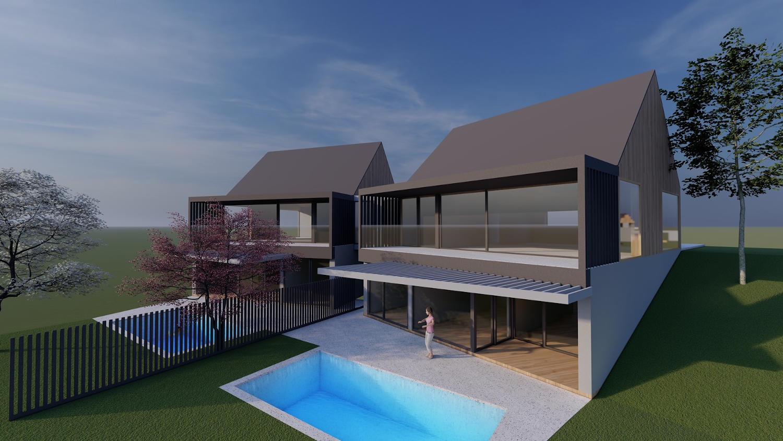 Projekt v gradnji Potoče - Luksuzni samostojni vili