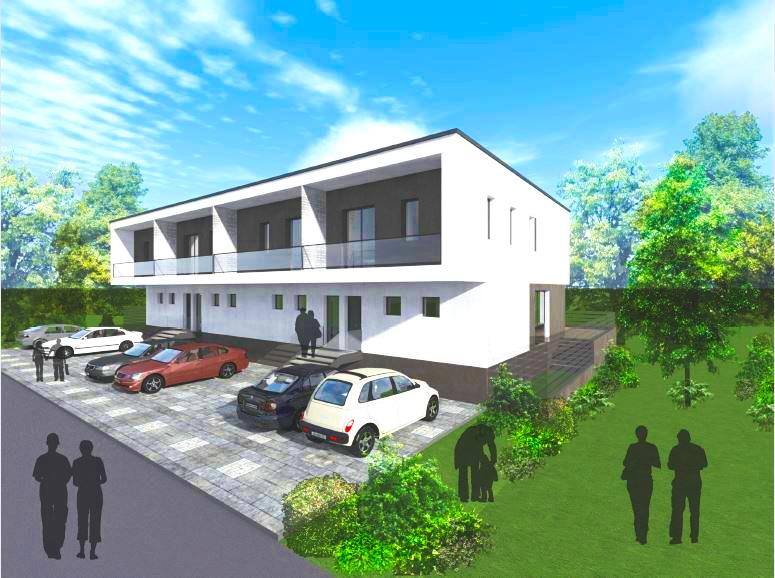 Novogradnja Vrstne hiše na Rudniku