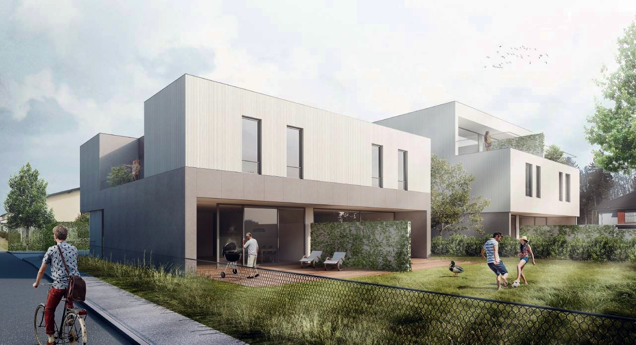 Novogradnja Stanovanjska dvojčka Zadobrova