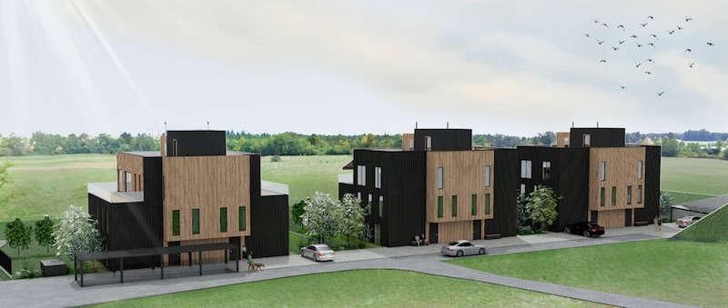 Novogradnja 12 eko stanovanj v Spodnjih Gameljnah