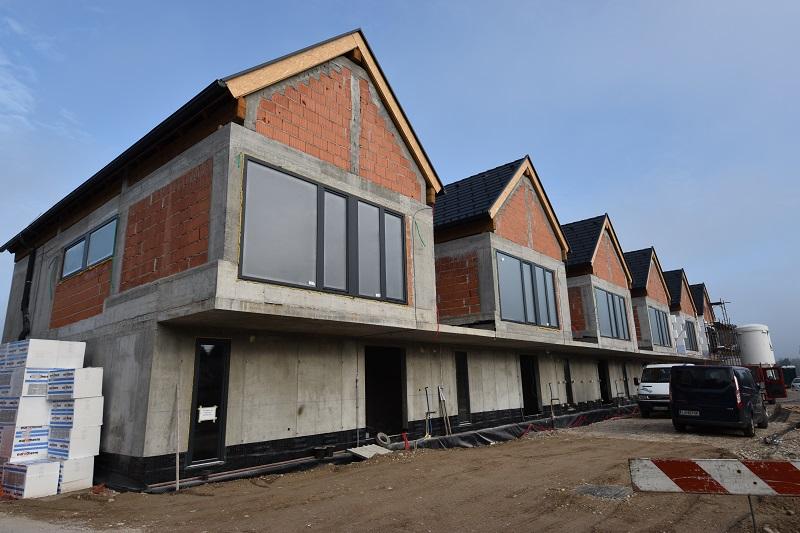 Novogradnja Vrstna hiša v neposredni bližini BTC-ja