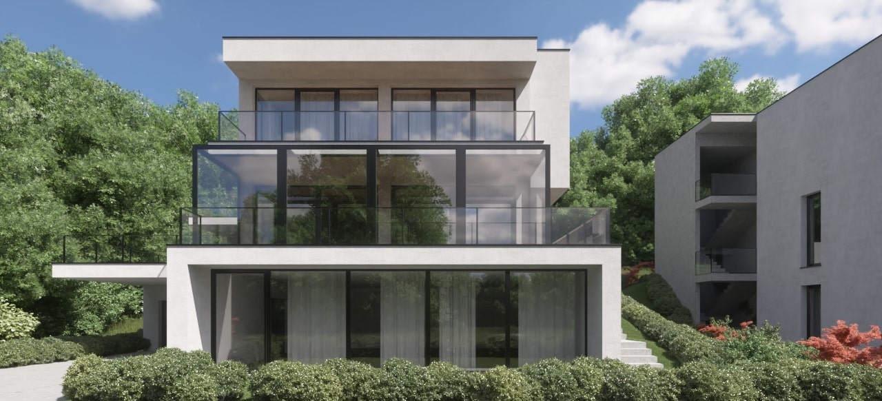 Novogradnja Prestižna stanovanjska vila Gameljne