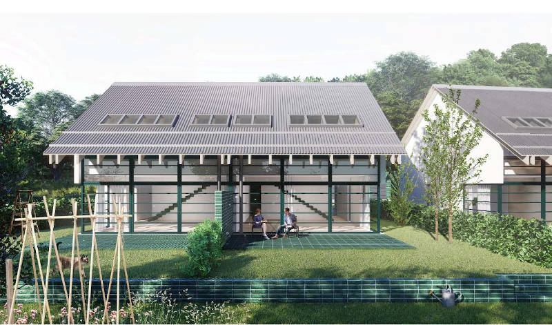 Novogradnja Dvojček v Sinji Gorici