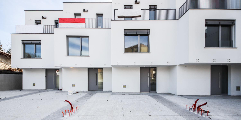 Novogradnja Nadstandardne vrstne hiše