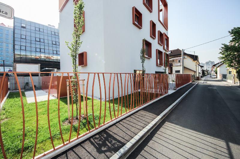 Novogradnja Vila blok na Funtkovi ulici